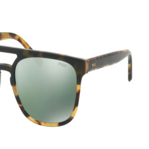 POLO Accessories - NWT Polo PH 4125 56366R Green Sunglasses